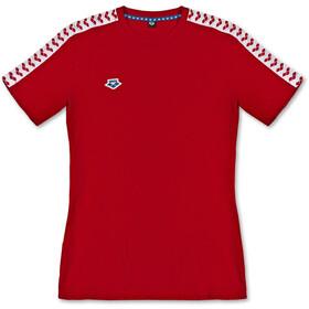 arena Team T-Shirt Uomo, rosso/bianco